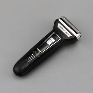 Image 2 - Kit de Afeitadora eléctrica 3 en 1 para hombre máquina de afeitar para Barba, maquinilla de afeitar eléctrica recargable para limpieza facial, afeitadora de lámina para Cuerpo Electrónico