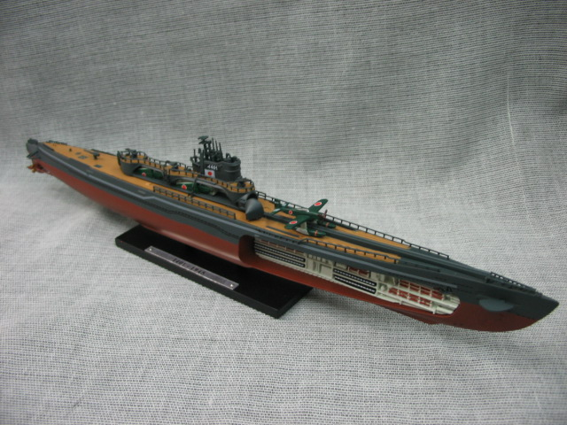 Out of print rare ATLAS 1: 350 World War II Japan Yi-401 Alloy submarine model Collection model Holiday gifts world war 1