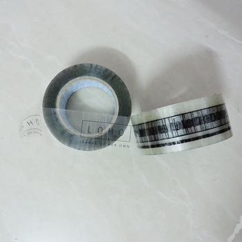 40mmx100M custom printed logo adhensive gift clear tape/Transparent Adhesive Tape for gift box packing