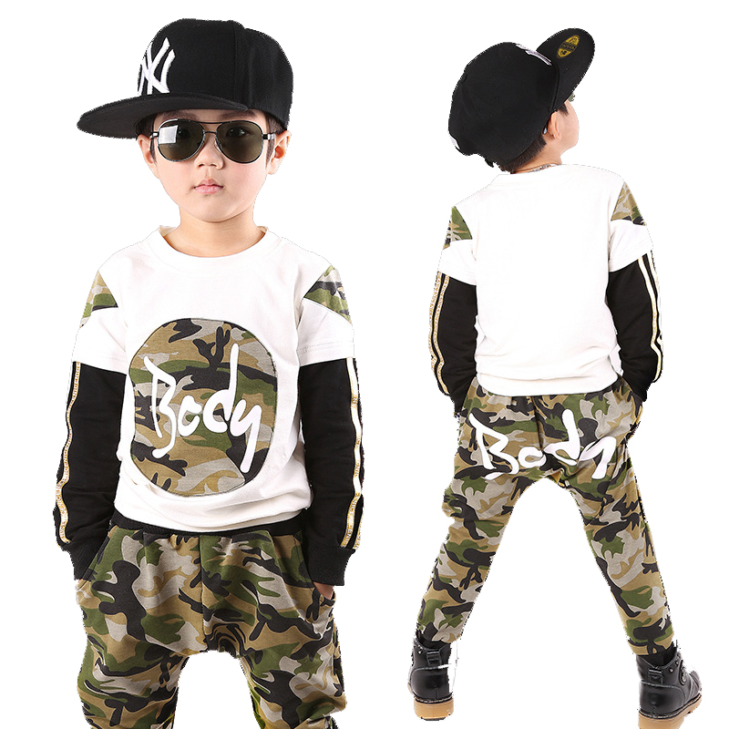 2017 Teenage Boys Sportswear Children Clothing Sets For Boys Camouflage Sports Suits Autumn Kids Tracksuits 5 6 8 9 10 12 Years teenage girls clothes sets camouflage kids suit fashion costume boys clothing set tracksuits for girl 6 12 years coat pants