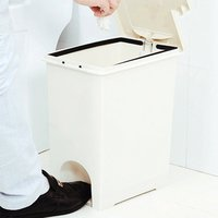 Pressing Cover Type Kitchen Waste Bin Sitting Room Toilet Multi Purpose Bathroom/Bedroom Trash Can