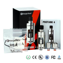 Authentic Kanger Protank 4 clearomizer EVOLVED 5ml with adjustbale airflow drip tip vaporizer kit SSOCC with dual clapton coil