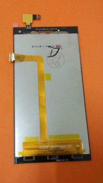Оригинальный HD ЖК-Дисплей Экран + Сенсорный Экран для Elephone P2000C MTK6582 Quad core 1 Г + 8 Г 5.5 дюймовый HD 1280x720 Бесплатная Доставка