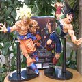 Dragon Ball Z Resurrection F Super Saiyan Son Goku Bardock  action figure toys  22cm PVC Collectible Model Doll kids toys  gifts