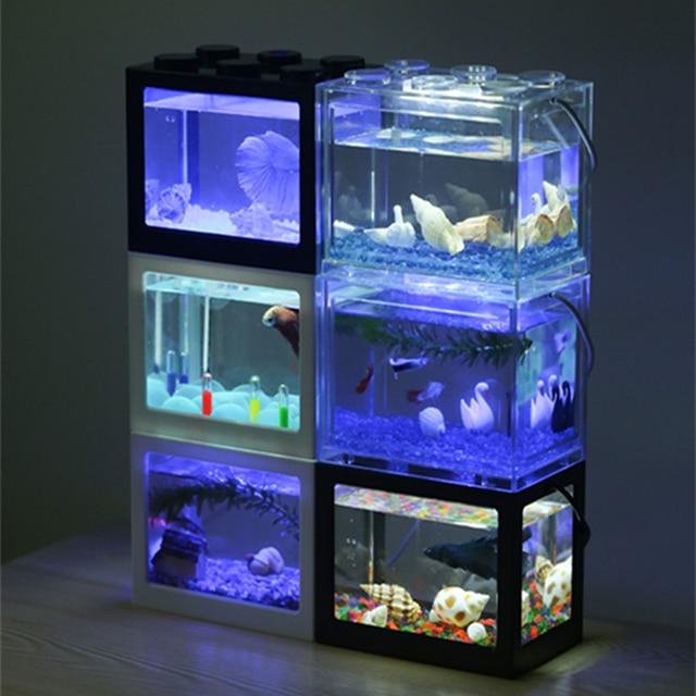 PETFORU Betta fish Fighting Mini Aquarium  4