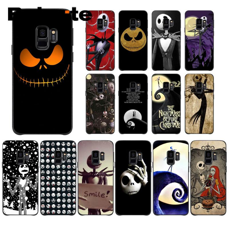 Nightmare Before Christmas Phone Case.Us 1 04 30 Off Babaite Nightmare Before Christmas Halloween Luxury High End Protector Phone Case For Samsung Galaxy S4 S5 S6 S7 S8 S9 S9 Plus In
