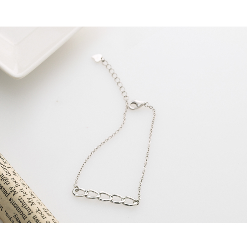 New 925 sterling silver bracelet female sweet simple fashion wild students fresh personality jewelry JCS10 fashion simple ladies fresh bracelet
