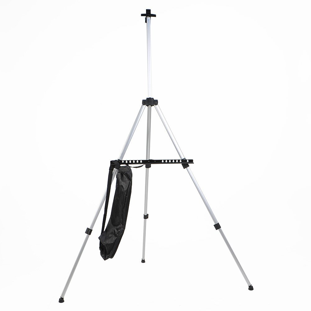Portable Adjustable Aluminum Easels Artist Sketching Painting Stand Drawing Display Easel Stand With Bag Stanowisko Do Malowania
