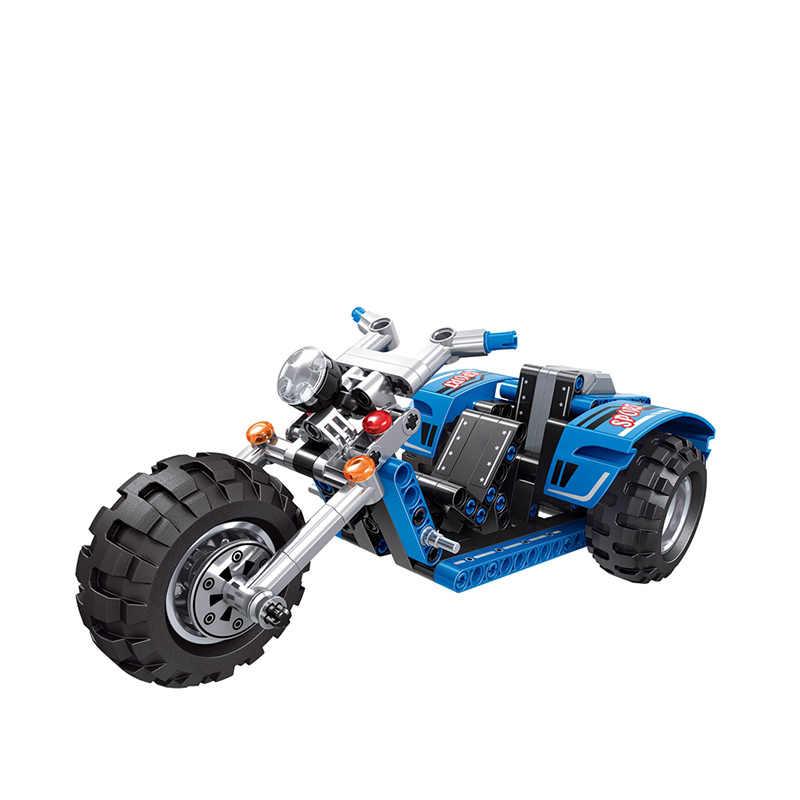 Classic Tractor Motorcycle Legoingly Technic Creator Model Building Blocks Bricks Technician Toys For Children Christmas Gift