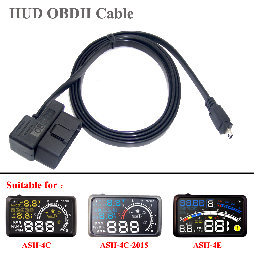 hight resolution of best wire obdii mini usb cable noodle 16pin 16core for hud obd 16 pin suitable for actisafety ash 4c 4c 2015 ash 4e head up disp