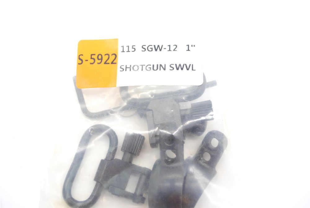 "Hunting Rifle QD Sling Swivel Set 12 Gauge Shotgun Barrel Clip 0.775/"" to 0.825/"""