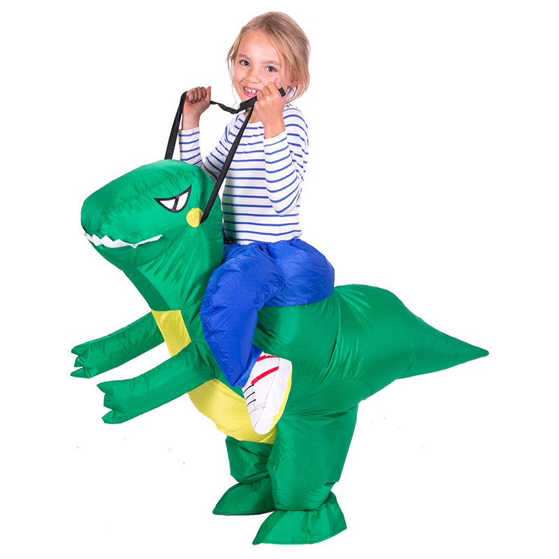 Free shipping Inflatable Dinosaur Costume Fan Operated Adult Kids Size Halloween Cosplay Animal Dino Rider T Rex-in Boys Costumes from Novelty u0026 Special Use ...  sc 1 st  AliExpress.com & Free shipping Inflatable Dinosaur Costume Fan Operated Adult Kids ...