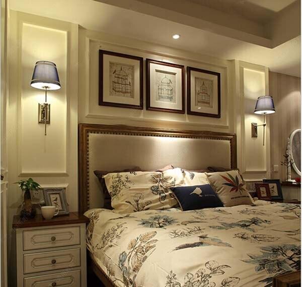 American Style Moderne Kurze Bett  Beleuchtung Balkon Amerikanischen  Wandleuchte Cp138