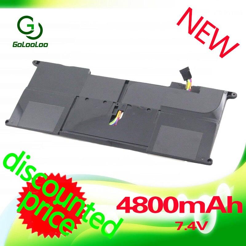 Golooloo 4800 mah 7.4 v Batterie D'ordinateur Portable pour Asus C23-UX21 C23UX21 Pour Asus UX21 UX21A UX21E Ultrabook Série