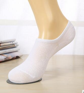 10pairs/lot free shipping  Unisex Women Men Boat Non-Slip No Show Nonslip Liner Low Cut Soft Breathable Cotton socks