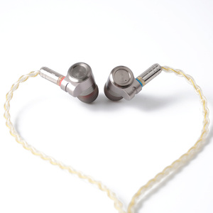 Image 5 - سماعات أذن معدنية HIFI T3 Knowles BA ، مشغل ديناميكي هجين ، سماعات أذن بكابل MMCX قابل للفصل من القصدير ، T2