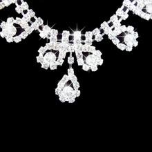 2015Bridal Romantic Rhinestone Wedding Jewelry Set