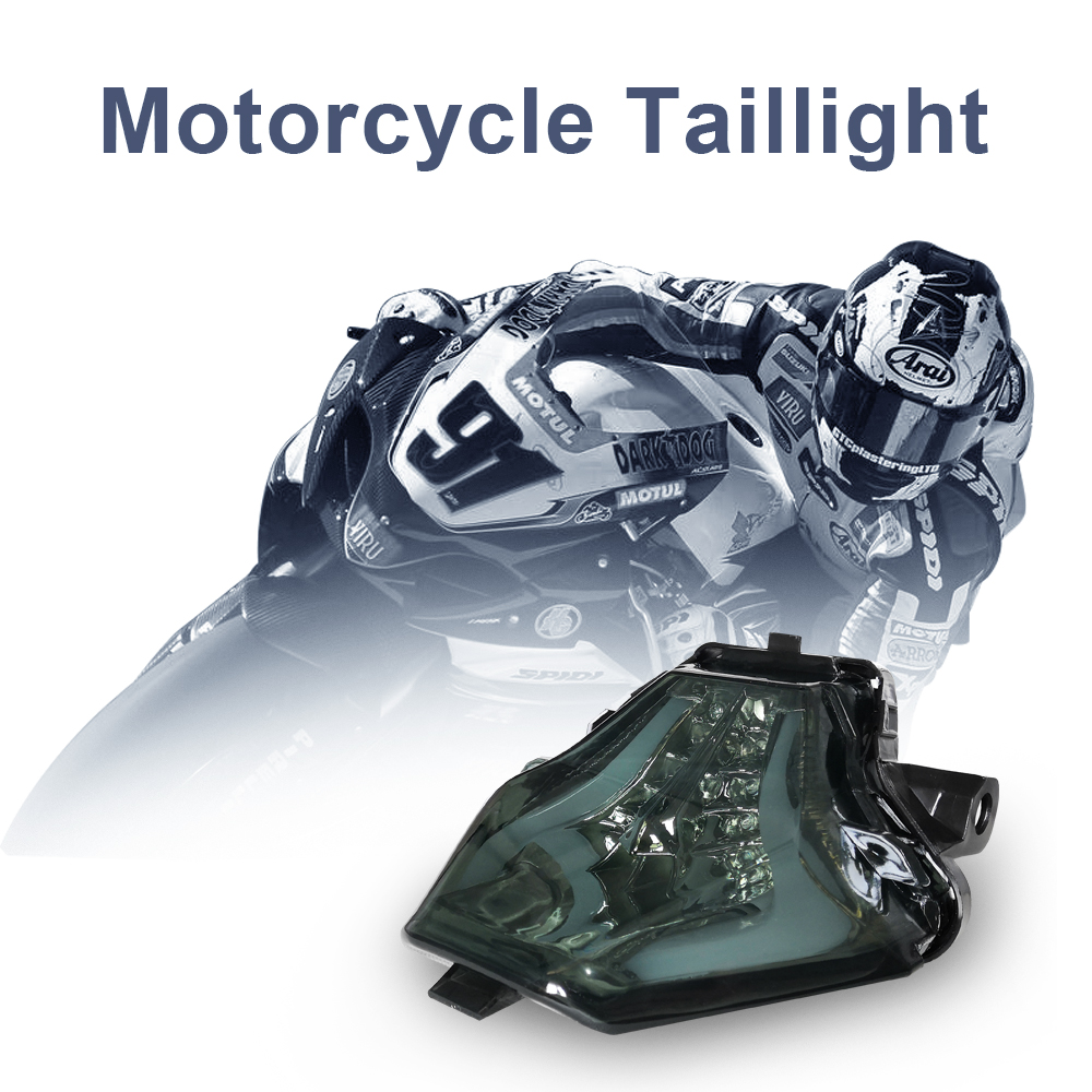 Tail Light For YAMAHA YZF R3 R25 2013 2014 2015 2016 Motorcycle Accessories Integrated LED Rear Brake Turn Signal Assembly Light in Covers Ornamental Mouldings from Automobiles Motorcycles