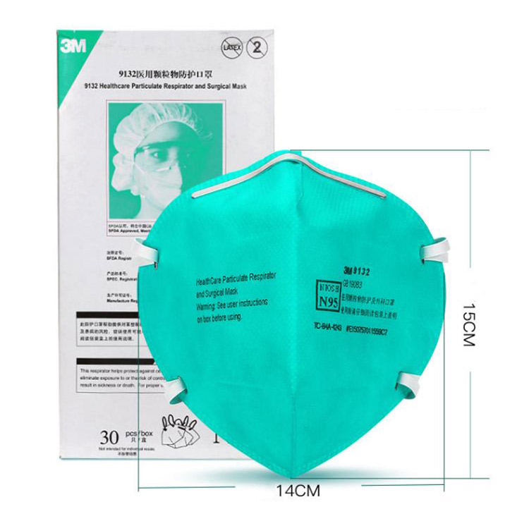 Respirator And Surgical Healthcare 9132 Particulate Dust Mask 3m