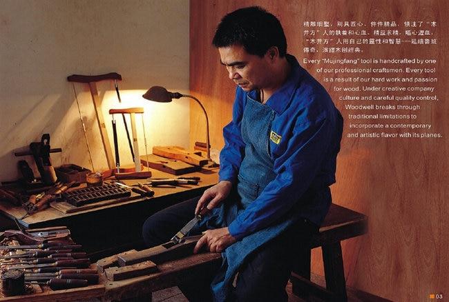 Lusso britannico indonesiano ebano + rame puro antiusura carpentiere - Attrezzature per la lavorazione del legno - Fotografia 6