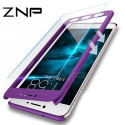 ZNP 360 градусов защитные жесткие чехлы для Xiaomi Redmi 4X 4A Note 5A ударопрочный полный Чехол для Xiaomi Redmi 5A 5 Plus чехол для телефона