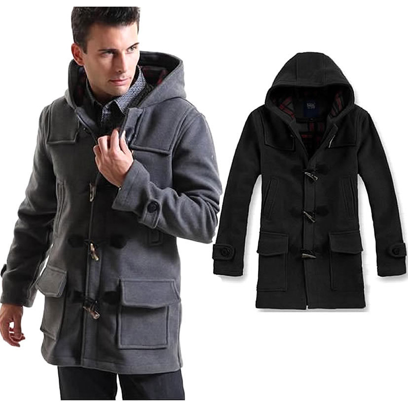 Aliexpress.com : Buy 2015 Single breasted mens trench coat hooded