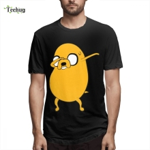 3D Print Men Jake, Dab, Dabbing Adventure Time T shirt Popular Tee Shirt Crazy Custom Pure Cotton For Boy Camiseta 3d print men jake dab dabbing adventure time t shirt popular tee shirt crazy custom pure cotton for boy camiseta