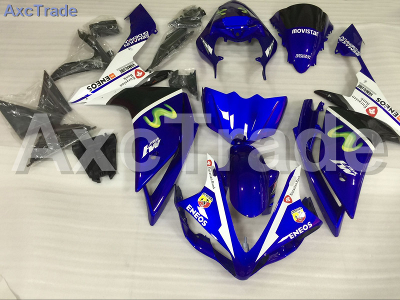 Motorcycle Fairings Kits For Yamaha YZF1000 YZF 1000 R1 YZF-R1 2007 2008 07 08 ABS Injection Fairing Bodywork Kit Blue A843 hot sales 97 07 yzf1000r abs fairing kit for yamaha yzf 1000 r thunderace 1997 2007 blue