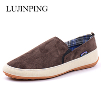 The Summer Of 2016 England Men Shoes Fashion Slip On Driving Loafers Flats Casual Canvas Shoes