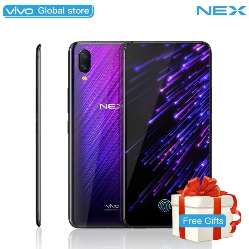 Téléphone portable Ultra FullView Affichage vivo NEX S 8 GB 128 GB Snapdragon 845 Élevant Caméra HiFi en stock 4000 mAh Déverrouiller téléphone portable