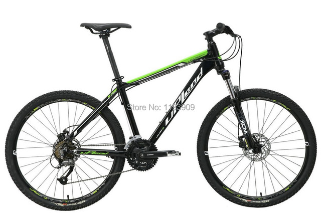 UPLAND LEADER MOUNTAIN BIKE, LEADER 300 , 27 speed, DUAL MECHANIC ...