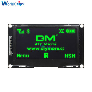 """Image 2 - 2.42"""" inch LCD Screen 12864 128X64 OLED Display Module IIC I2C SPI Serial C51 STM32 SSD1309 for Arduino White/Blue/Green/Yellow"""