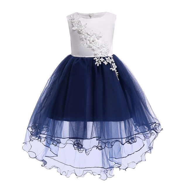 3b80571ae8 Children's dress 2019 new 3 4 5 6 7 8 10 years old flower Elegant Kids Girls  Dresses princess party dress for baby tutu clothing
