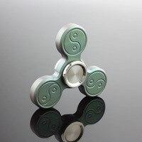 Super Titanium Metal Mini Tri Fidget Spinner Finger Widget Anti Stress Top Main Funny Spiner Triangle