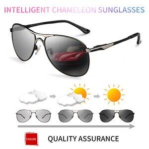 Image 2 - CAPONI Driving Photochromic High Quality Sunglasses Polarized Classic Brand Sun Glasses for Men oculos de sol masculino CP8722