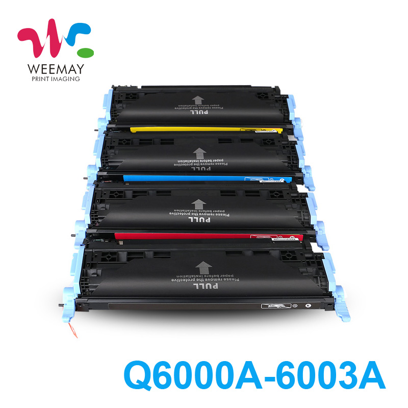 Color printer toner cartridge Q6000A Q6001A Q6002A Q6003A for HP 1600 2600n 2605 use for hp 4730 toner cartridge toner cartridge for hp color laserjet 4730 printer use for hp toner q6460a q6461a q6462a q6463a