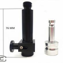 Комплект быстроразъемных адаптеров для призматического полюса, gps, SURVEYING