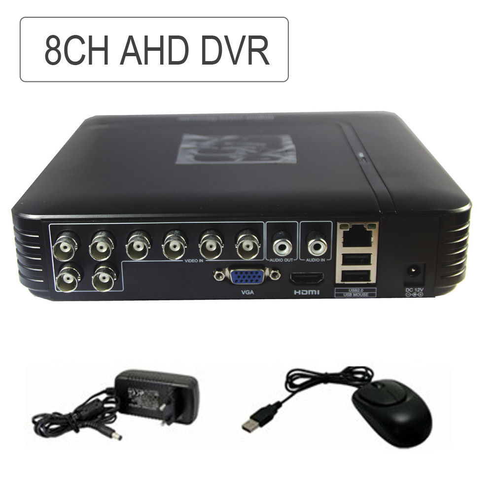 CCTV 8CH MINI AHD 4CH AHD DVR NVR 5-IN-1 Hybrid Realtime Mobile Video Recorder For AHD Camera DVR security 4ch ahd m dvr 8ch realtime 1080p nvr video recorder multi mode
