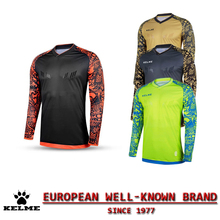 KELME Spain Official Men Soccer Jerseys 2016 2017 Football Shirt Survetement Football Jersey Maillot de Foot Goalkeeper Cloth 28