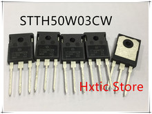 5PCS/LOT STTH50W03CW STTH50W03 TO-247