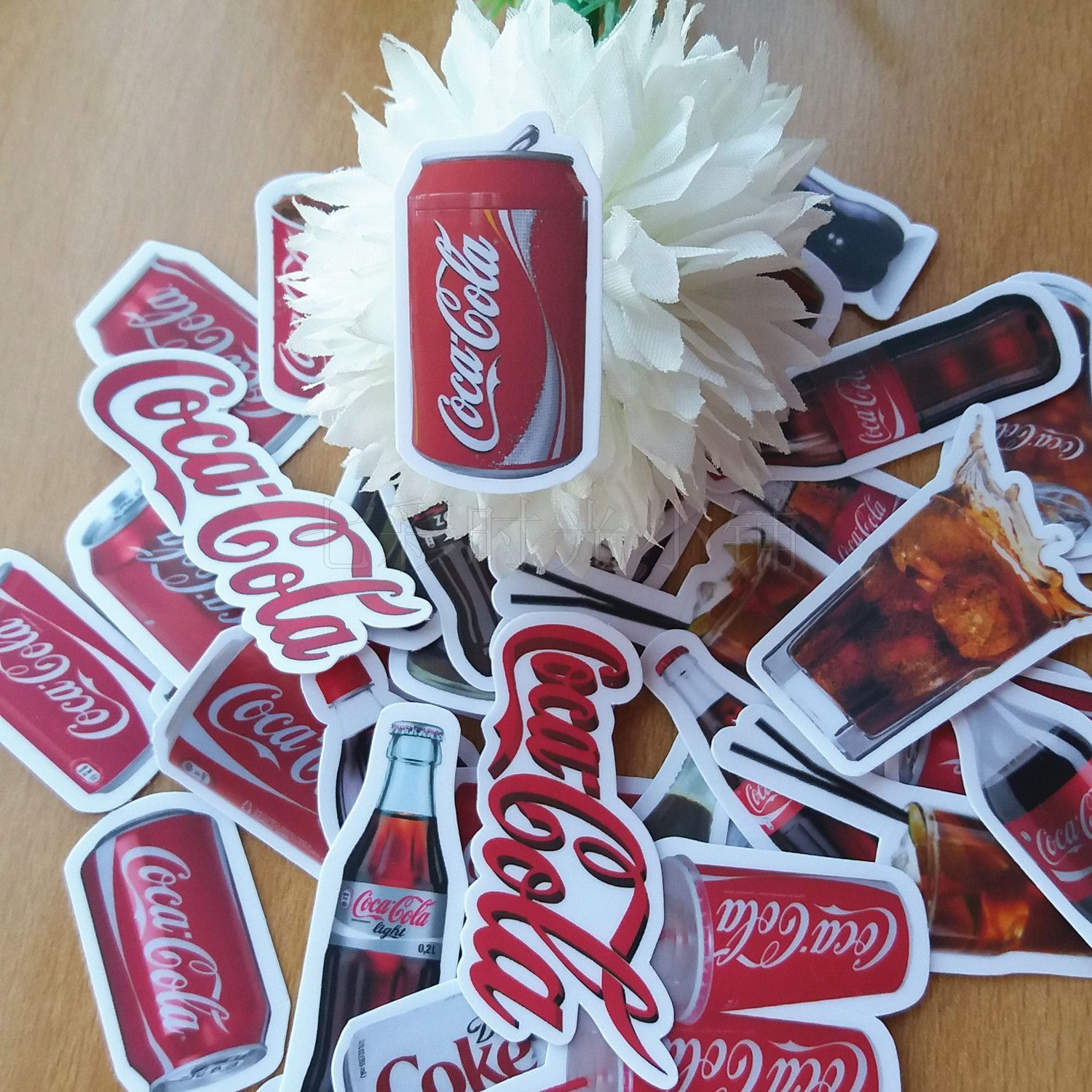 41pcs Coca Cola Stickers DIY Photo Diary Stickers Decoration Stickers Stickers LINE Expression