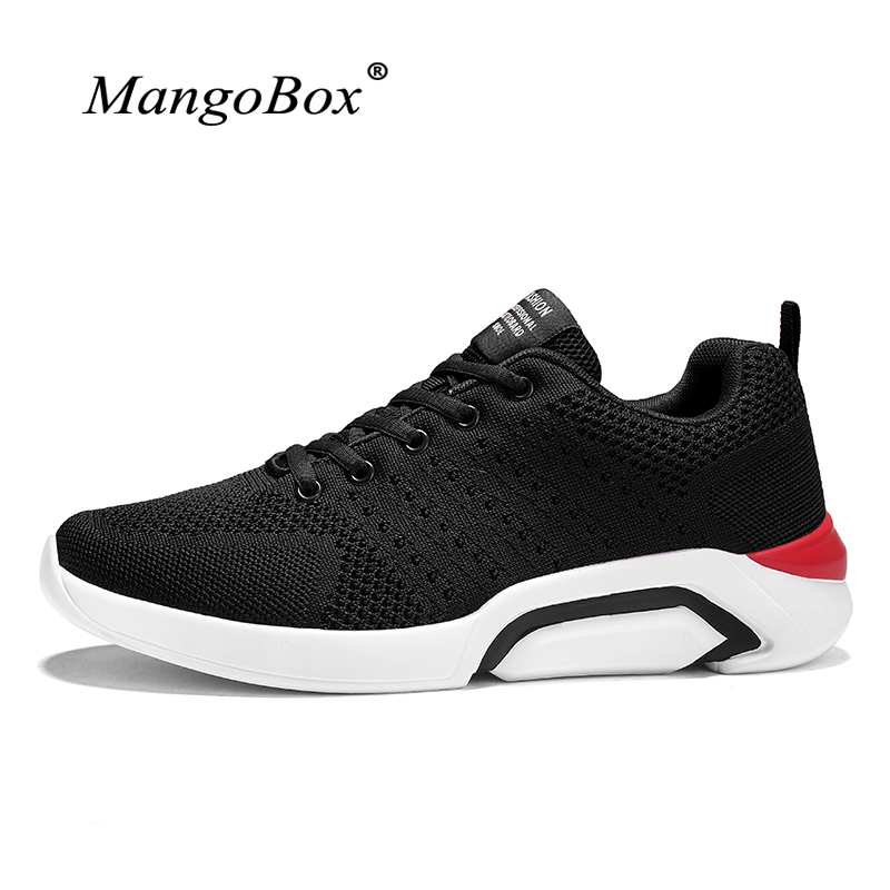 2018 Brand Men Sneakers Spring Summer Running Trainers Lightweight Sport Shoes Men 2018 Comfortable Trail Running Shoes