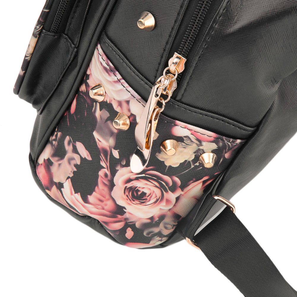 rebite mochila pu mochilas de Hot : PU Leather Backpacks