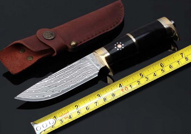 Online Buy Wholesale damascus bowie knife from China