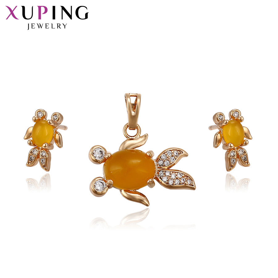 Xuping Charm Goldfish Shape...