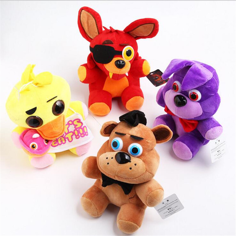 Five Nights At Freddy s Plush Fnaf World Freddy Animal Bear Foxy Rabbit Ducki Plush font