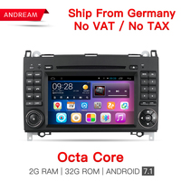 Octa Core 2G DDR3 RAM 32G ROM Android 6 0 Car Multimedia Player For Benz A
