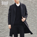 Black camel mens wool cashmere double-faced coats manteau homme abrigos hombres invierno casaco masculino LT1164 Free shipping