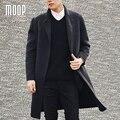 Negro camel hombres de lana de cachemira doble cara abrigos manteau homme hombres invierno abrigos casaco masculino lt1164 envío gratis