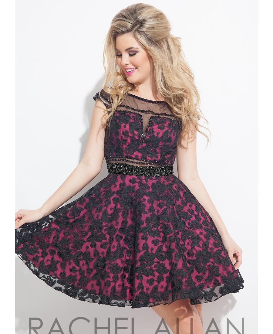 Tallas grandes vestidos fiesta 2016 una línea de negro barato pura ...